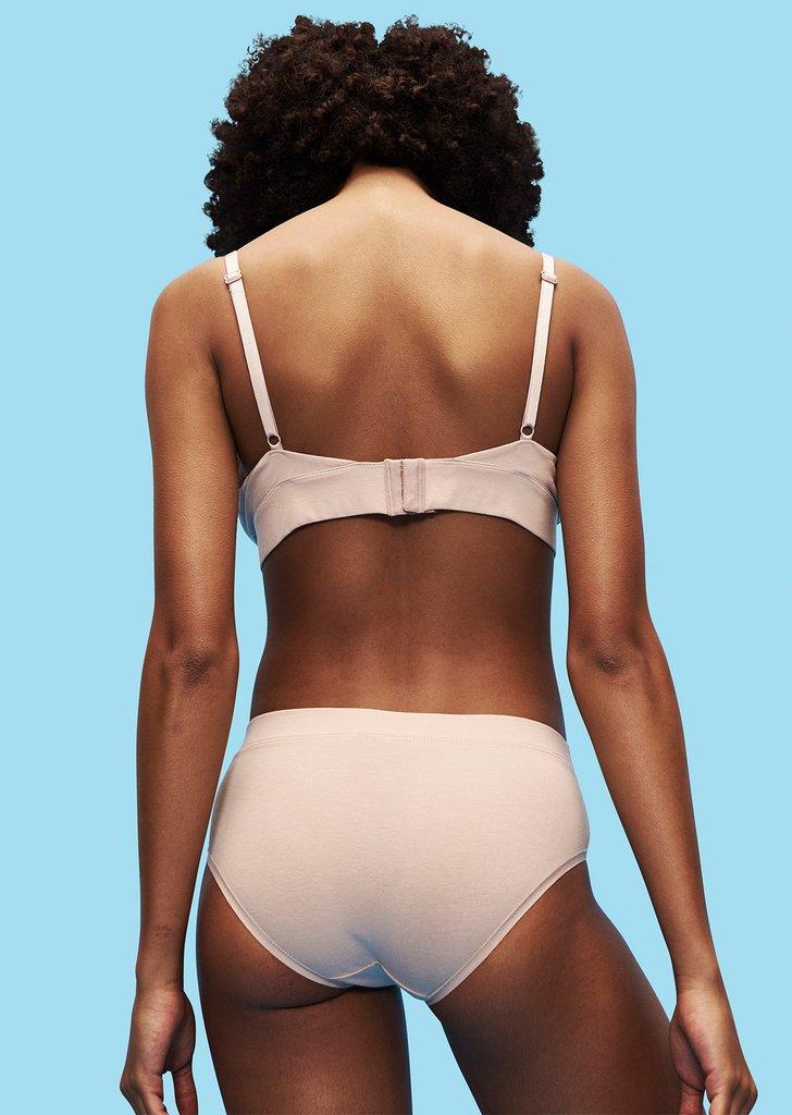organic cotton simple underwear