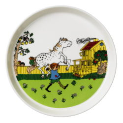 pippi longstocking plate