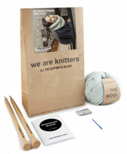 we are knitters snood kit