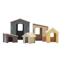 wooden-houses-set-of-5