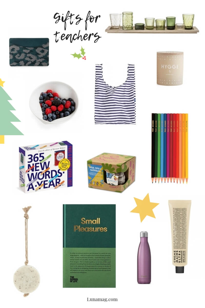 Gift Guides 2018 - teachers