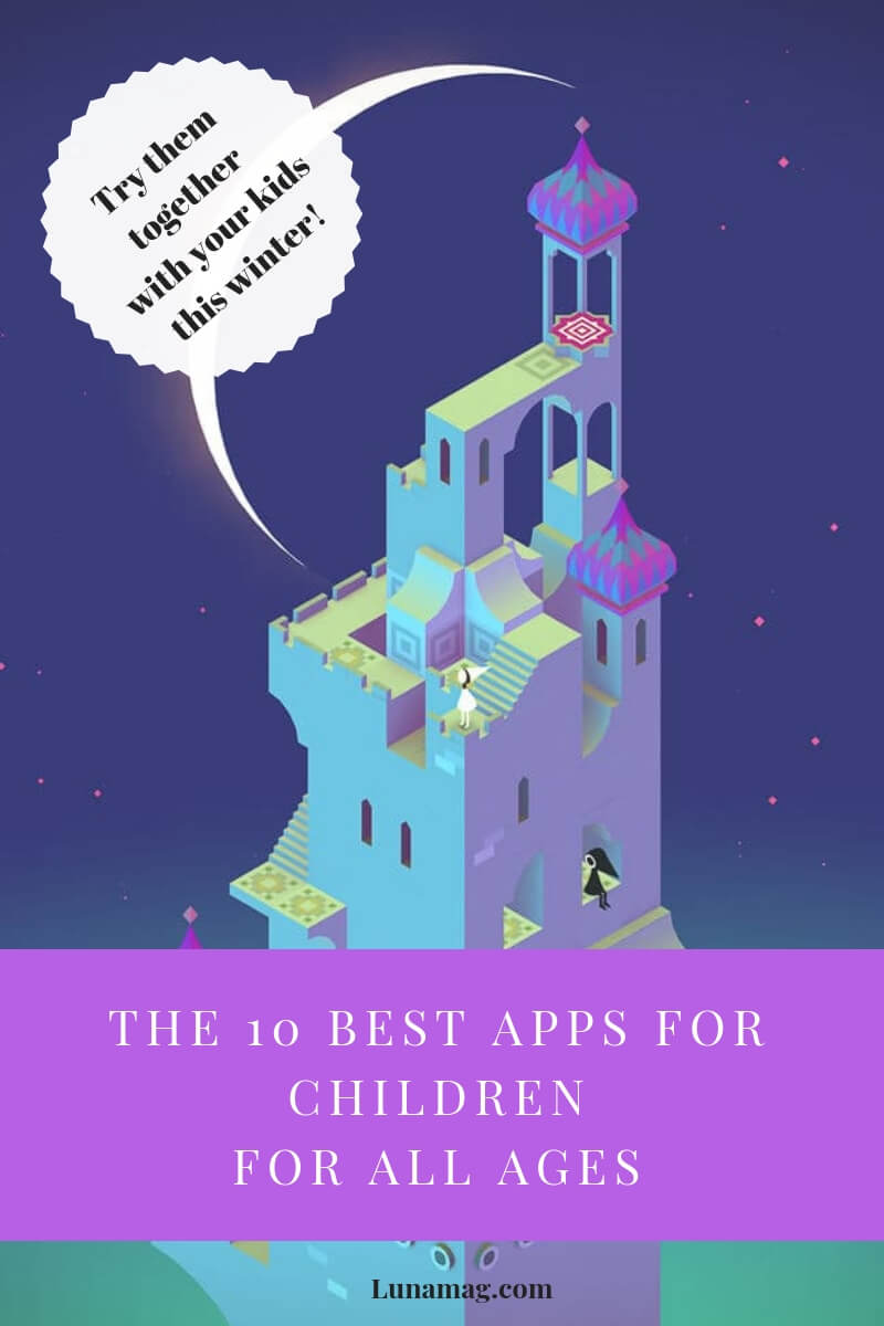 The 10 best apps for childrenfor all ages(1)
