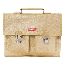 glitter gold-book-bag-with-mini-straps