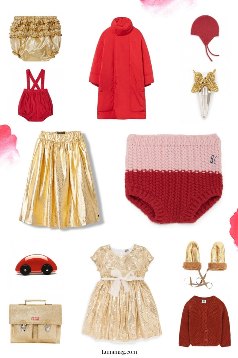 red gold edit for children