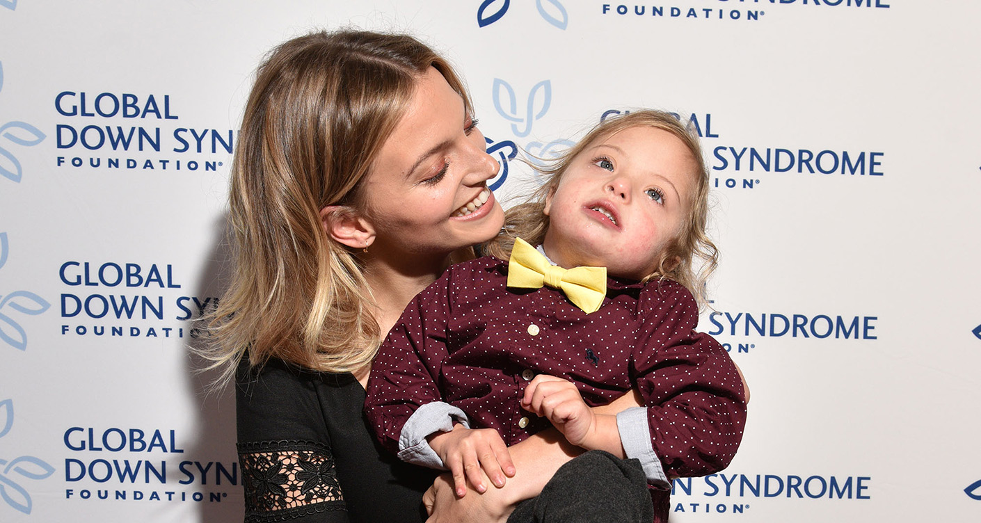 Child with Down Syndrome: Model Amanda Booth sends positive signal