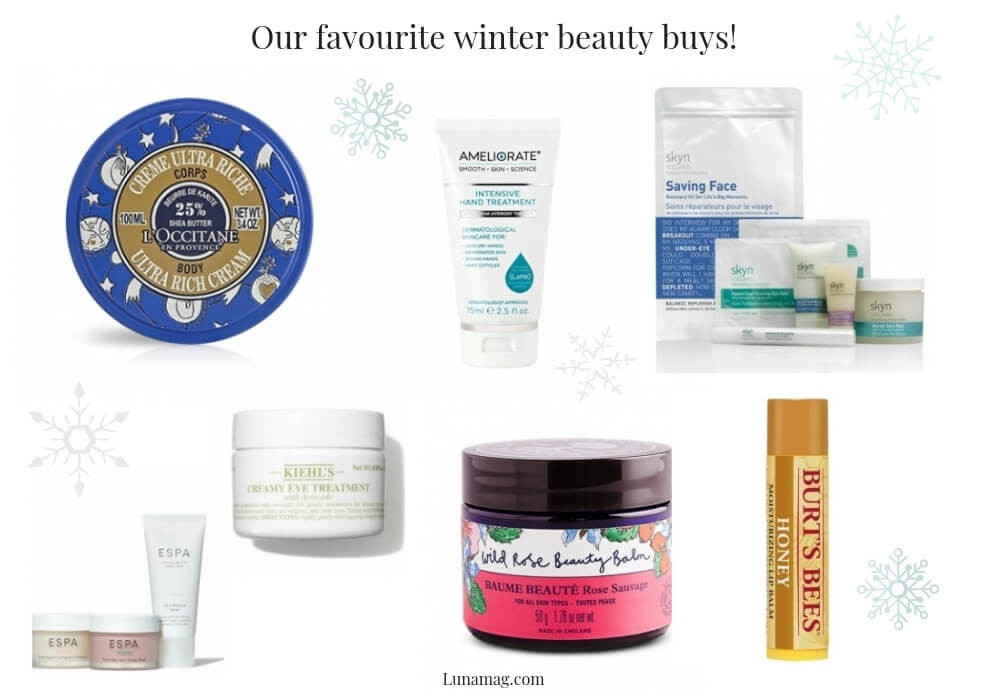 favourite winter beauty buys