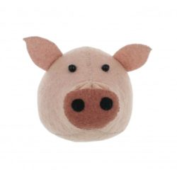fiona walker pig head felt
