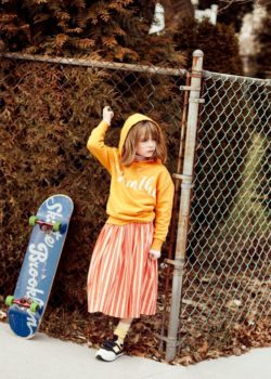 kids fashion editorial: A Day in the Life