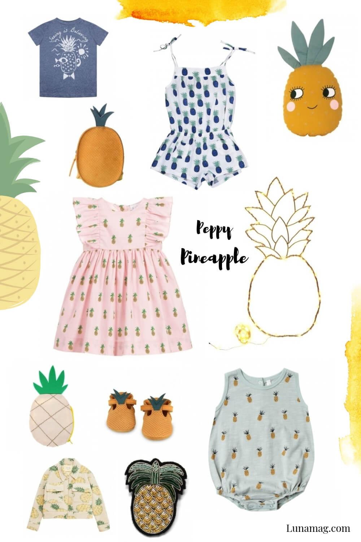 Fashion Fruits - Peppy Pineapple