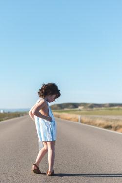 Lunamag.com kids fashion editorial: In the Road