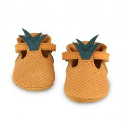 baby leather shoes pineapple