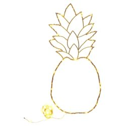 pineapple-light-with-copper-garland