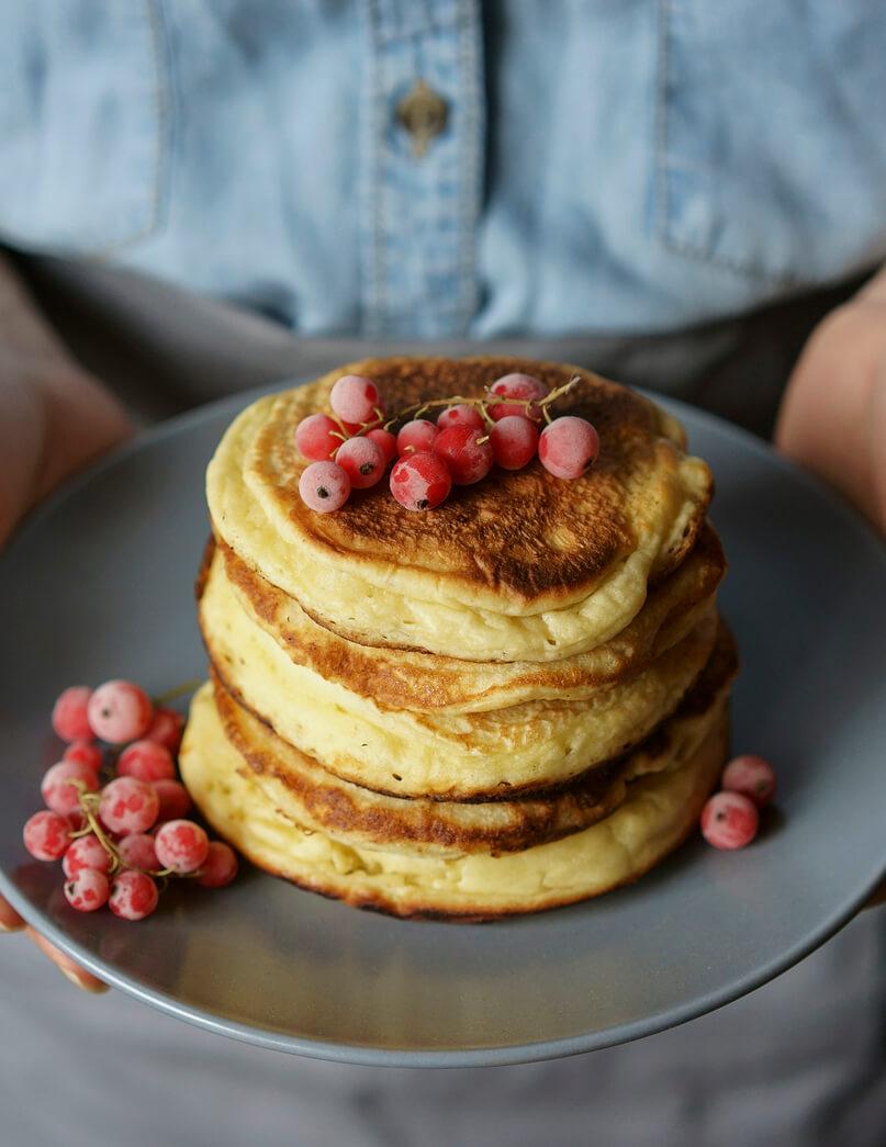 souffle pancakes recipe