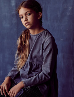 Forever my bower bird - kids fashion editorial