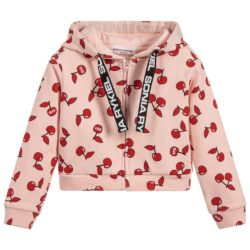 sonia-rykiel-paris-girls-pink-hooded-zip-up-cherry