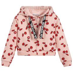 sonia-rykiel-paris-girls-pink-hooded-zip-up-cherry