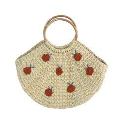 apple wicker bag