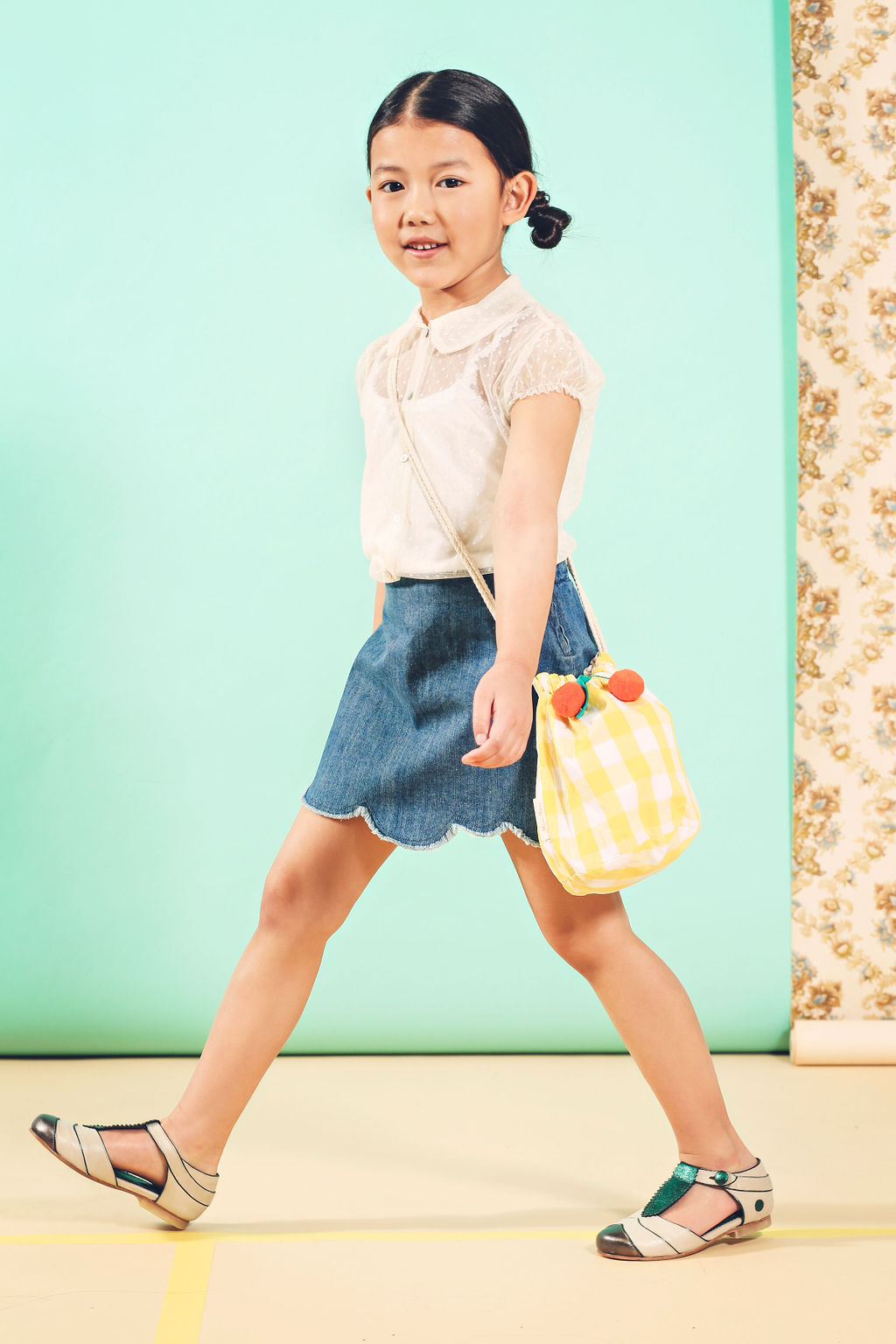 kids fashion editorial Spring fever