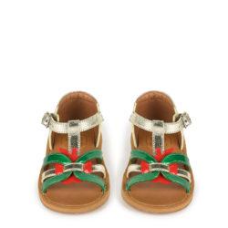 pom dapi apple sandals
